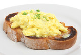 Scrambled Eggs on Toast poster