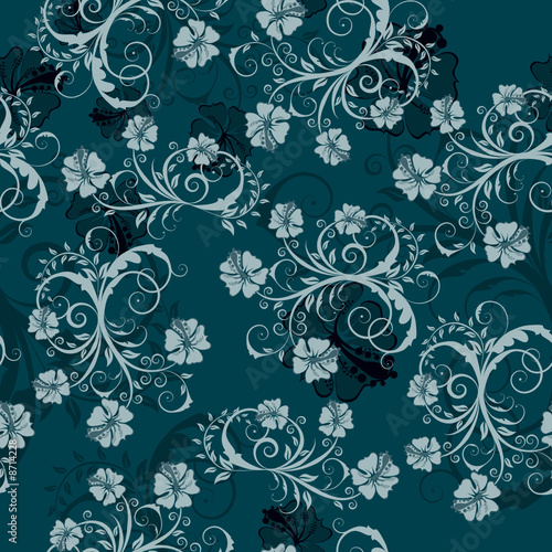 floral seamles background