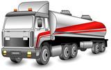 Transportation gasoline poster