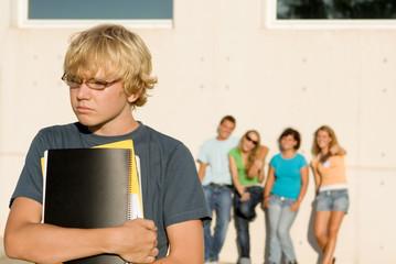 misfit bullied lonely sad teenager