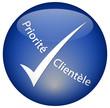 """Bouton """"Priorité Clentèle"""""""