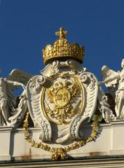 Reichskrone und Wappenschild, Wien