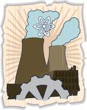 atomic energy poster