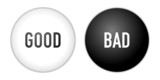 buttons good bad