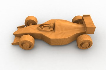 wooden formula one