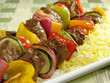 Beef Kebab and Saffron Rice - 8749851