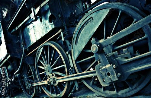 poster of diagonal acid train detail