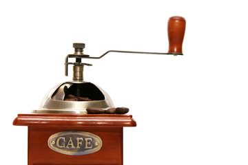 Old-fashioned coffee grinder