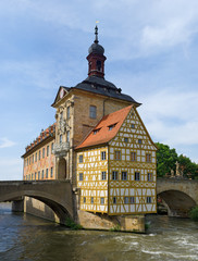 Altes Rathaus. Bamberg, Germany