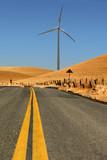 Power generating windmill, Rio Vista California. poster