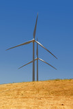 Power generating wind turbines, Rio Vista California. poster