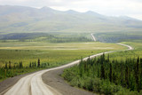 Dempster Highway above Arctic Circle, Canada
