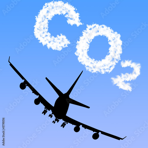 Plane and CO2