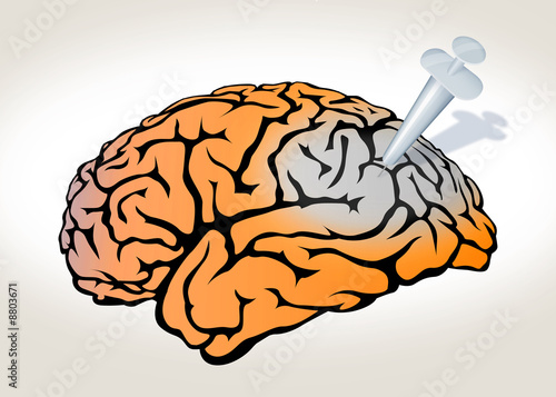poster of The Drug turn off the Brain