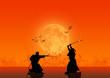 roleta: Samurai Silhouette