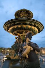 Fuente de la plaza de la Concordia, Paris (France)