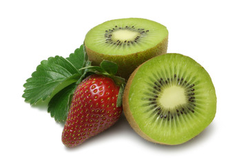 Kiwi and Strawberry