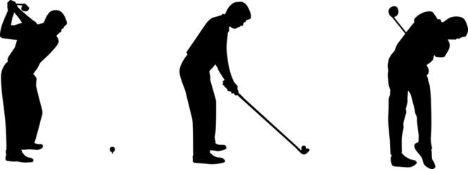 Mouvement de golfeur