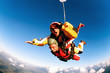 Tandem skydiver in action parachuting - 8816005
