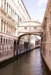 The bridge of sights in Venice, Italy