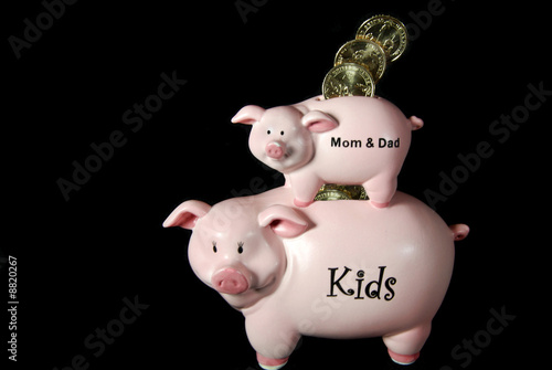 Piggy-Back Piggy Bank