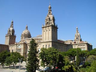 Barcelona, Palau Nacional, Montjuic