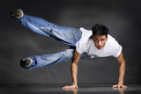 stylish and cool breakdance style dancer posing - 8823857