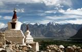 Chorten, Himalayas, Ladakh, India poster