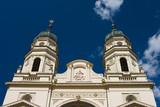 Metropolitan cathedral in Iasi, Romania. poster