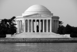 The Thomas Jefferson Memorial from across the Tidal Basin. poster