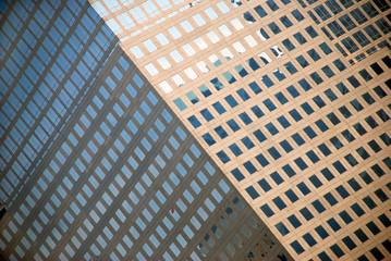 fragment of skyscraper  in New York City