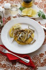 Alborelle con polenta e patate - Secondi Trentino Alto Adige