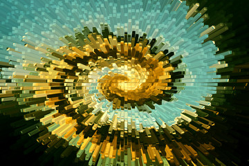 Circular explosion