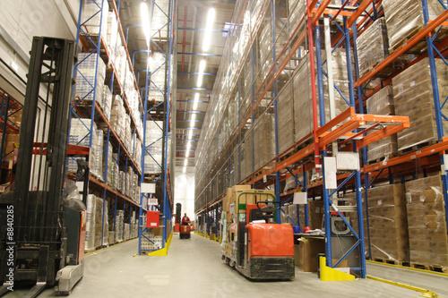 inside of warehouse - 8840285