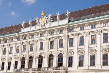 imperial palace in vienna, austria