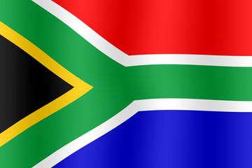 Drapeau Afrique du sud