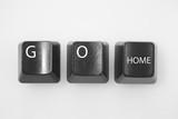 Computer keys spelling
