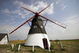 Danish Windmill..Old restored windmill on Danish island Mandoe poster