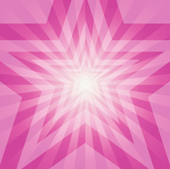 Abstract Star Burst Background