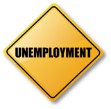 Unemployment Road Sign poster
