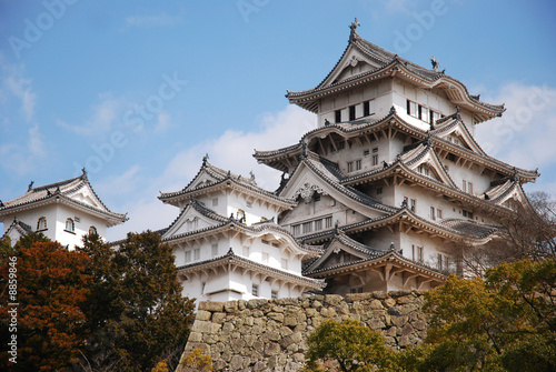 Poster Japanese castle