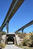 Pont et tunnel poster