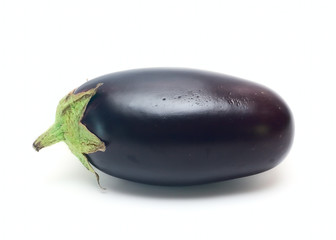 Eggplant Vegetable isolated on white