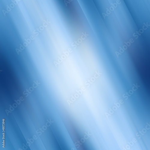 poster of abstract blue background with some smooth lines in it