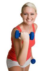 Teen Lifting Weights
