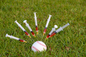 The concept of human growth hormone use in sports.