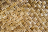 Close of of woven buri palm poster