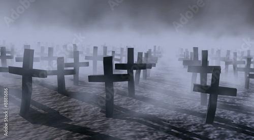 mistyczny cmentarz