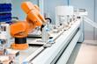 Leinwandbild Motiv A computer controlled automated manufacturing process