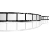 Fototapety Blank film strip